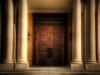 St. Michael\'s church doors