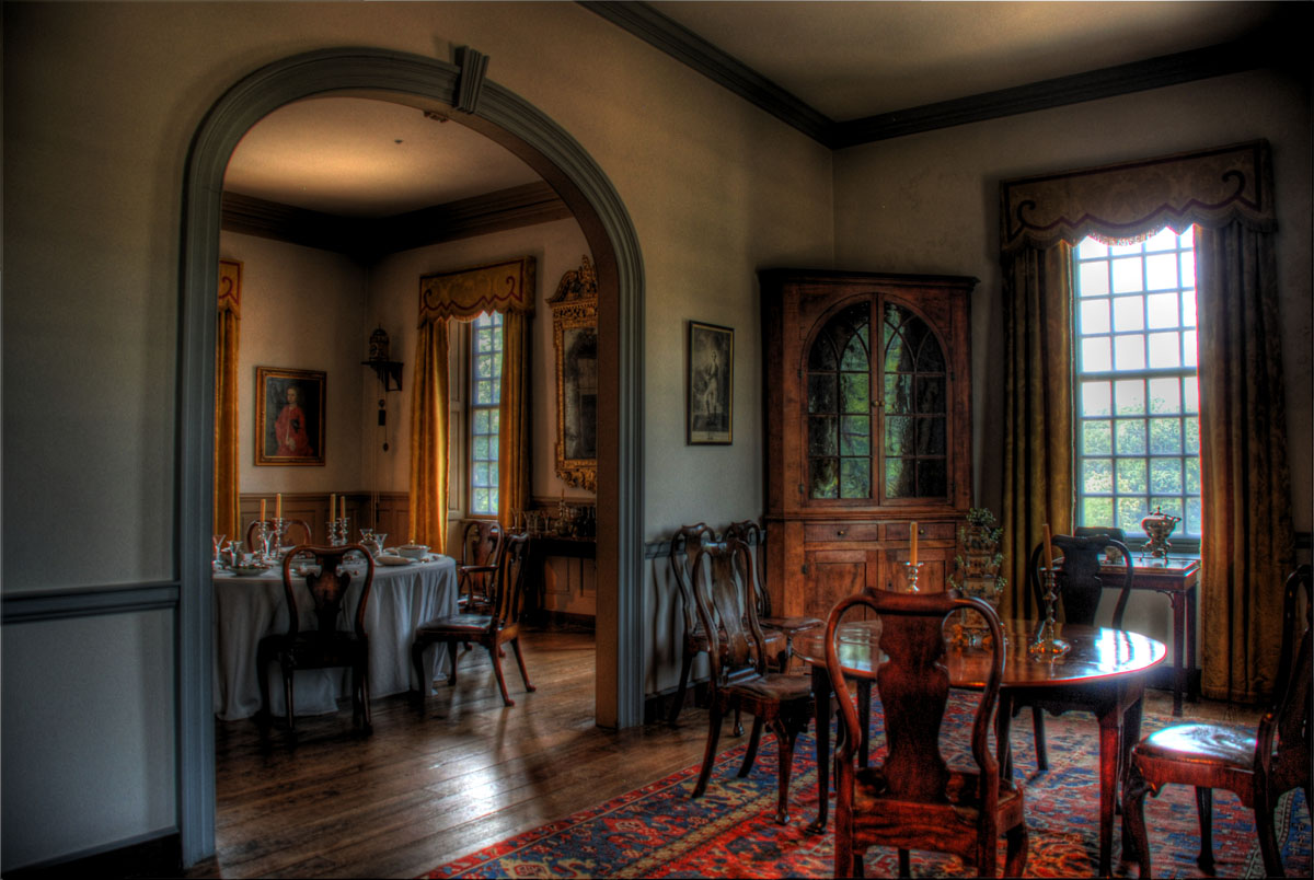 Back from virginia with hdr photos to prove it rob for Dining hall pictures home